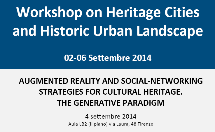 Workshop on Heritage Cities and Historic Urban Landscape