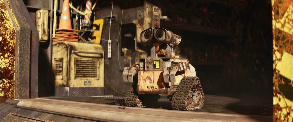 Un robot in casa Disney Pixar